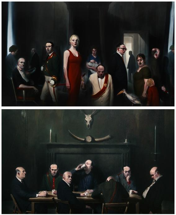 ken-currie scary paintings art