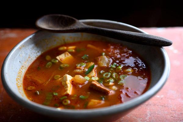kimchi souping