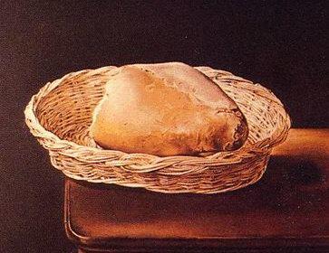 la cesta de pan dali