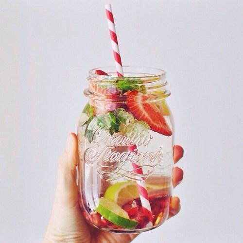 habitos alimenticios sanos agua