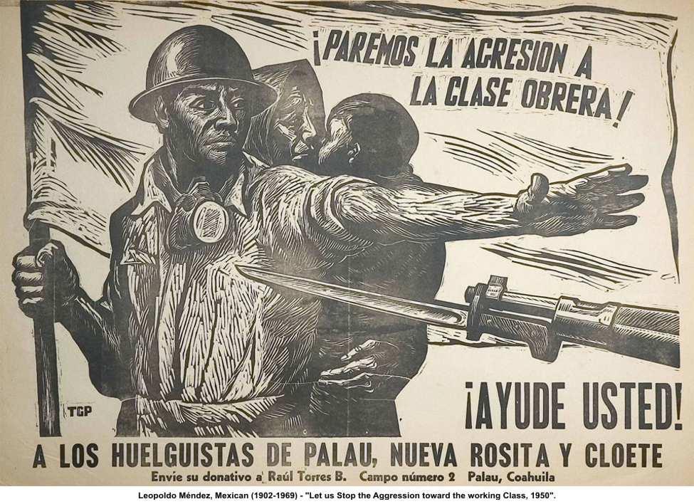 Artistas mexicanos posrevolucionarios  leopoldo-mendez-lear
