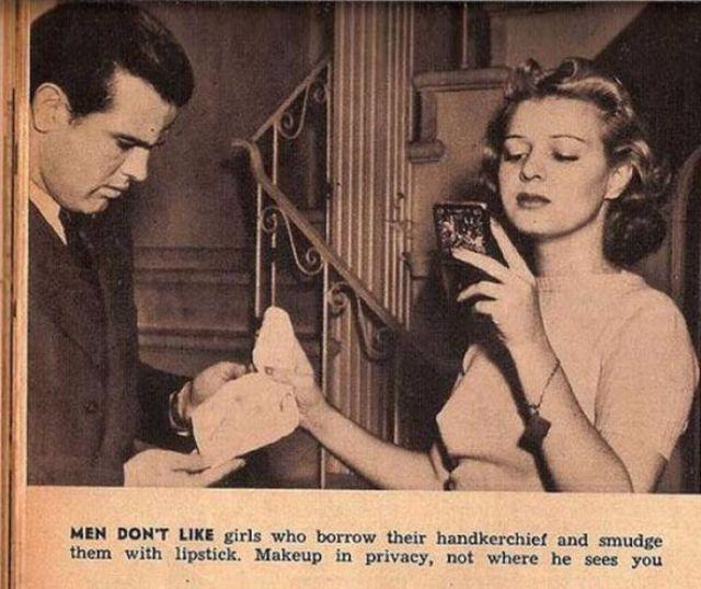 mansplaining sexist dating advice