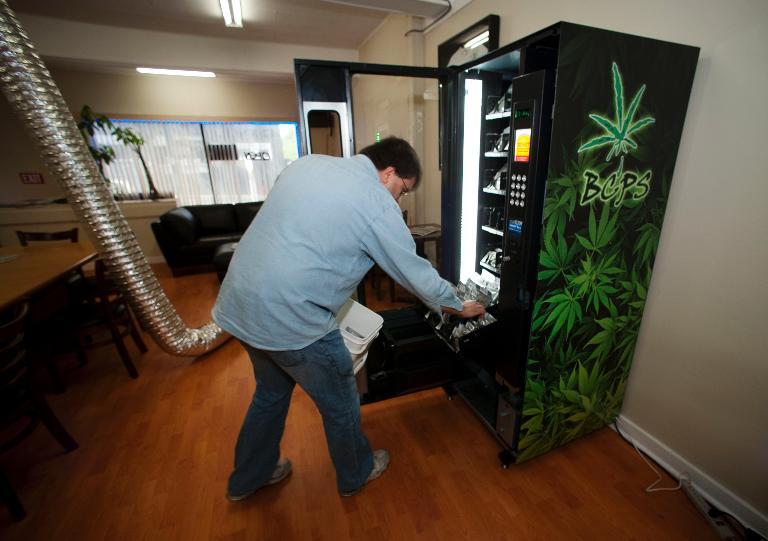 marihuana legal maquina