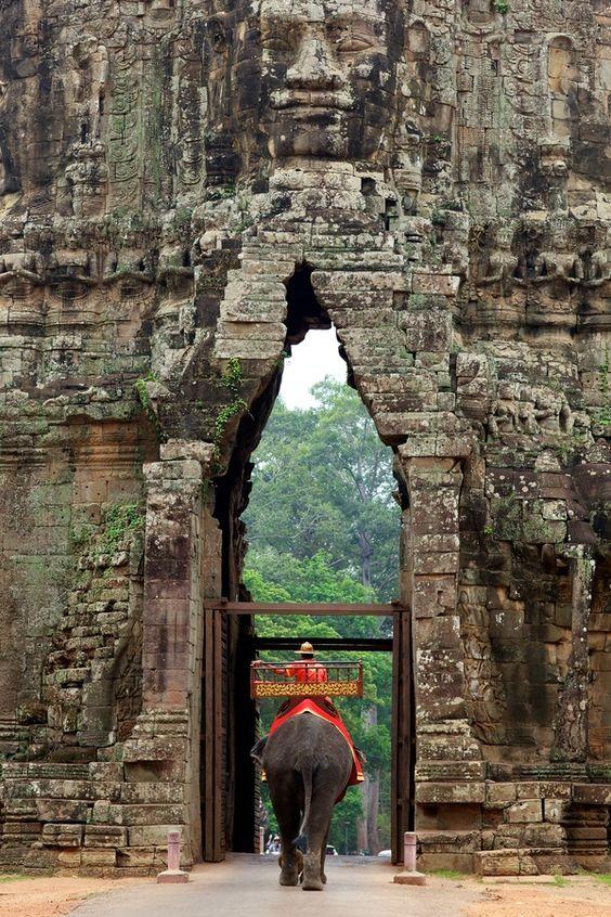 mejores paises para vivir camboya elefante