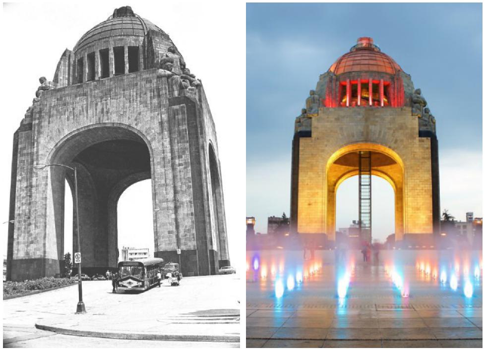 monumentos arquitectonicos de mexico monumento revolucion