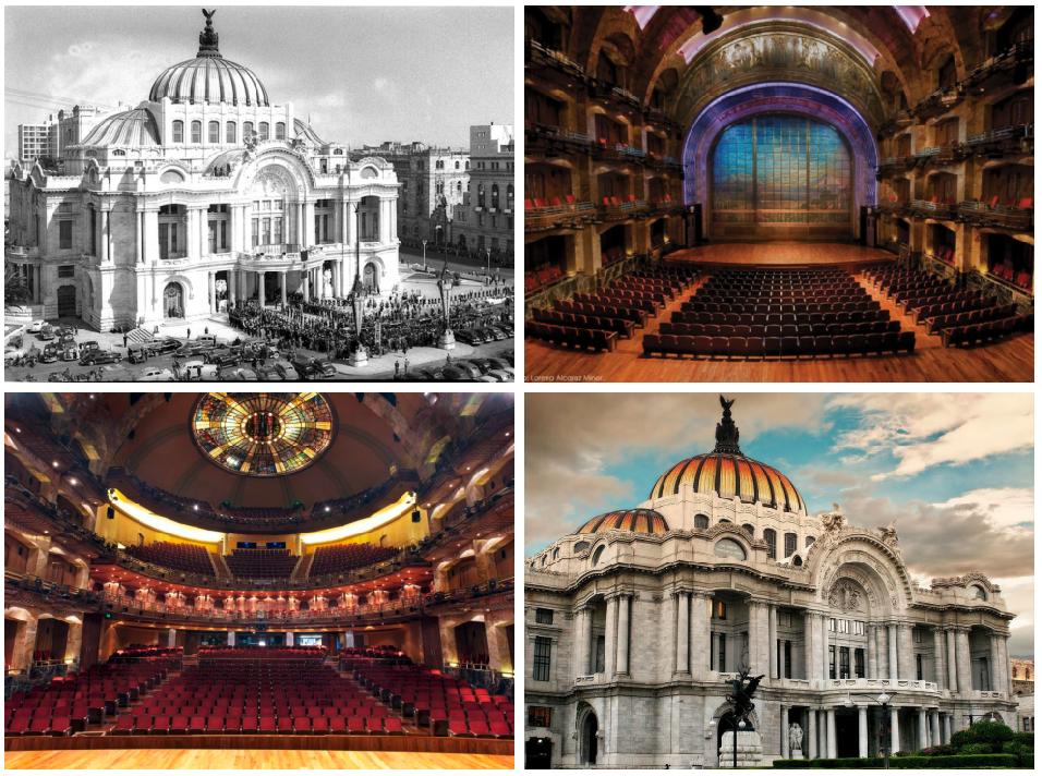 monumentos arquitectonicos de mexico palacio bellas artes