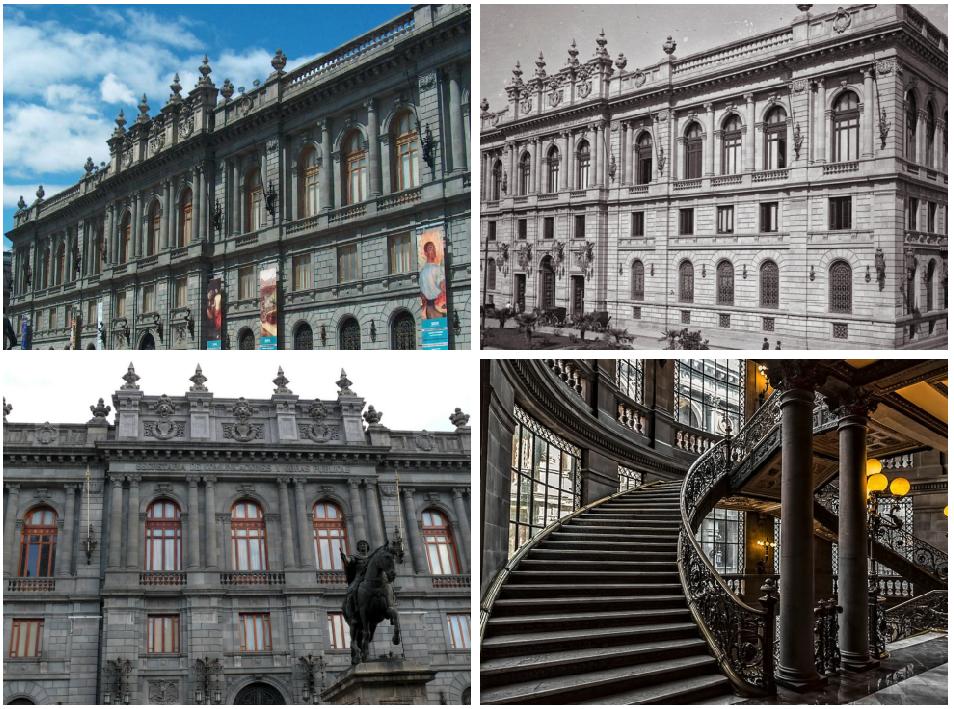 monumentos arquitectonicos de mexico palacio de comunicaicones