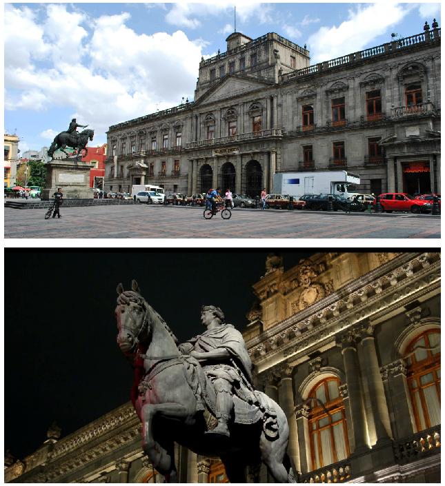 monumentos arquitectonicos de mexico plaza manuel tolsa