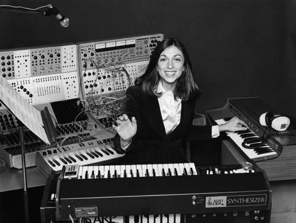 mujeres en la musica electronica suzanne ciani