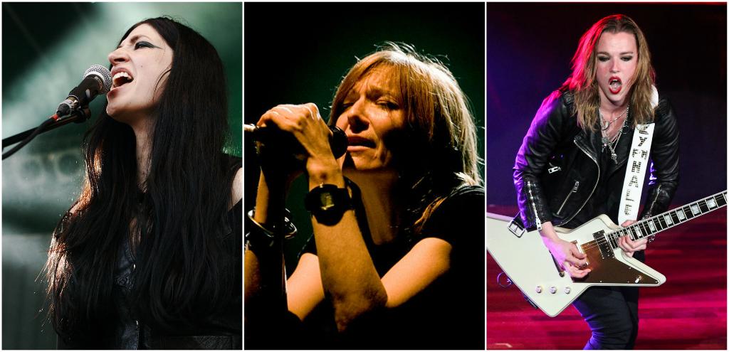 6 mujeres líderes de bandas que demostraron que el rock y el metal no son exclusivos de hombres