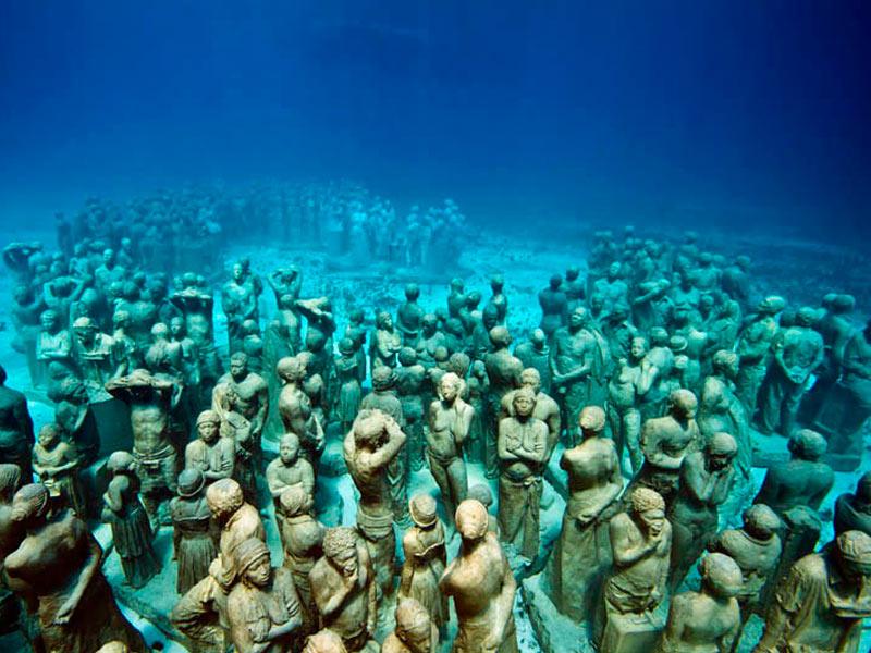 museos bajo el agua