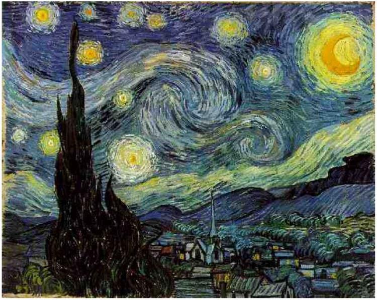 noche-estrellada obras de arte importantes