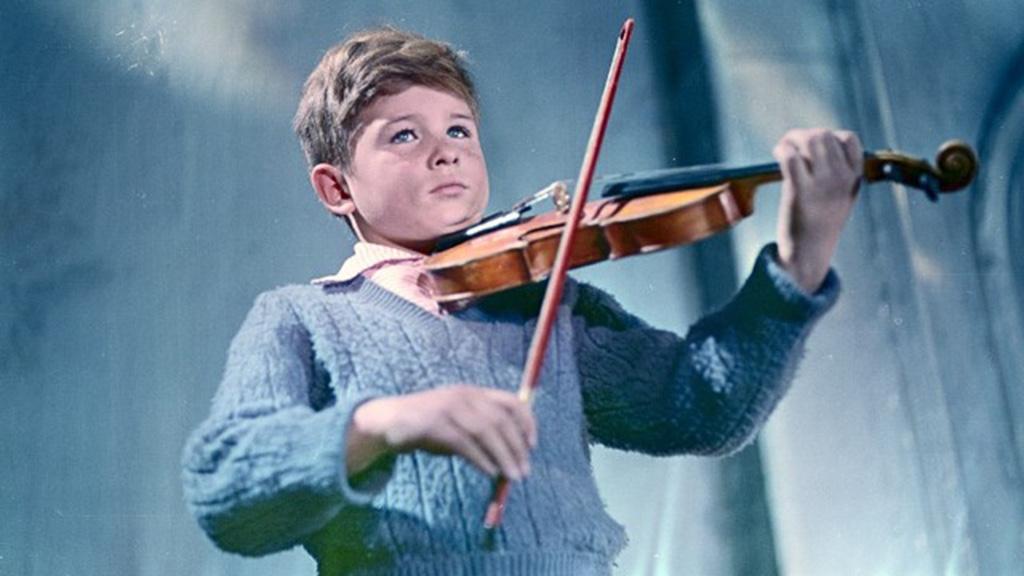 película La aplanadora y el violín