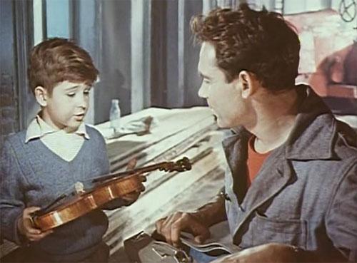 pelucula la aplanadora y el violin
