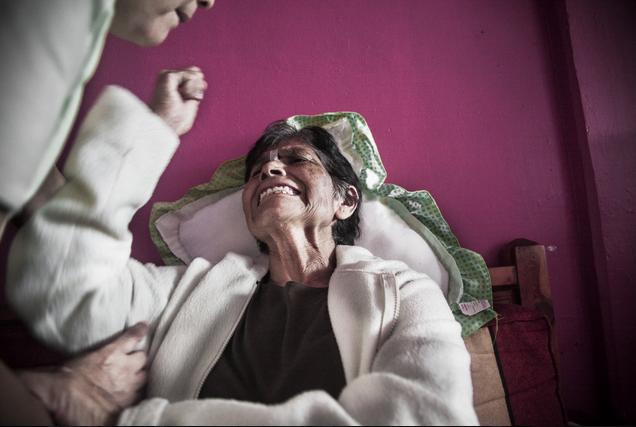 photographer grandmother death illness