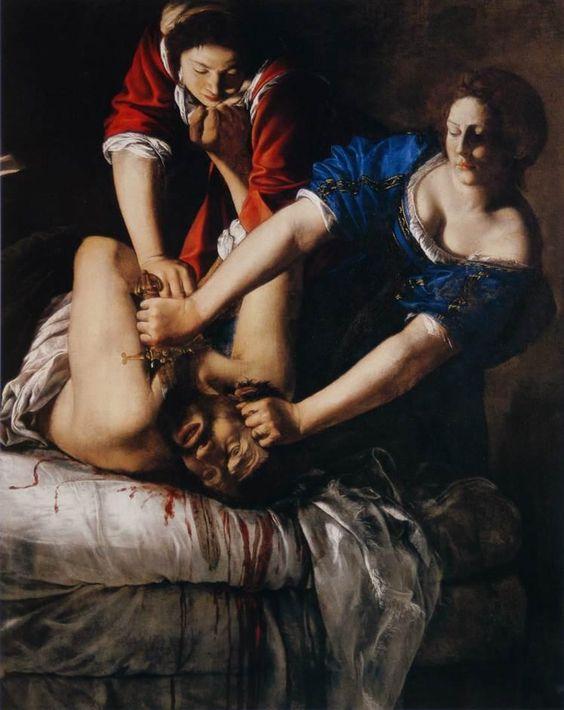 pinturas estrañas y horribles judit