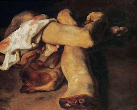 pinturas extrañas y horribles partes