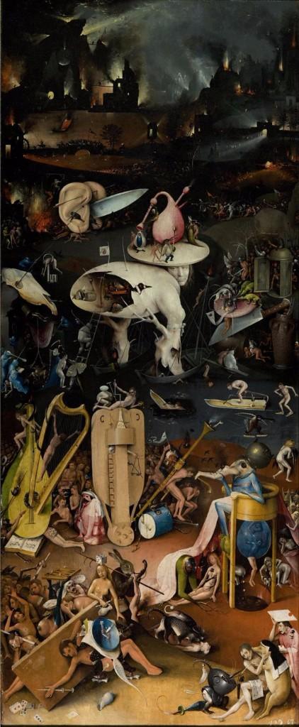 pinturas extrañas y horribles