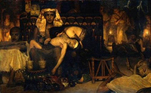 plagas egipto muerte