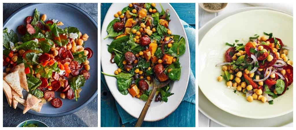 platillos bajos en calorias ensalada