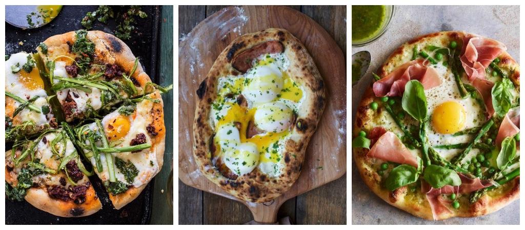 platillos bajos en calorias pizza huevo