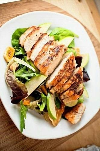 pollo ensalada como mejorar la digestion