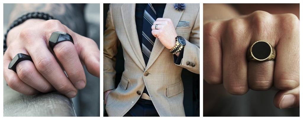 prendas de hombre anillos
