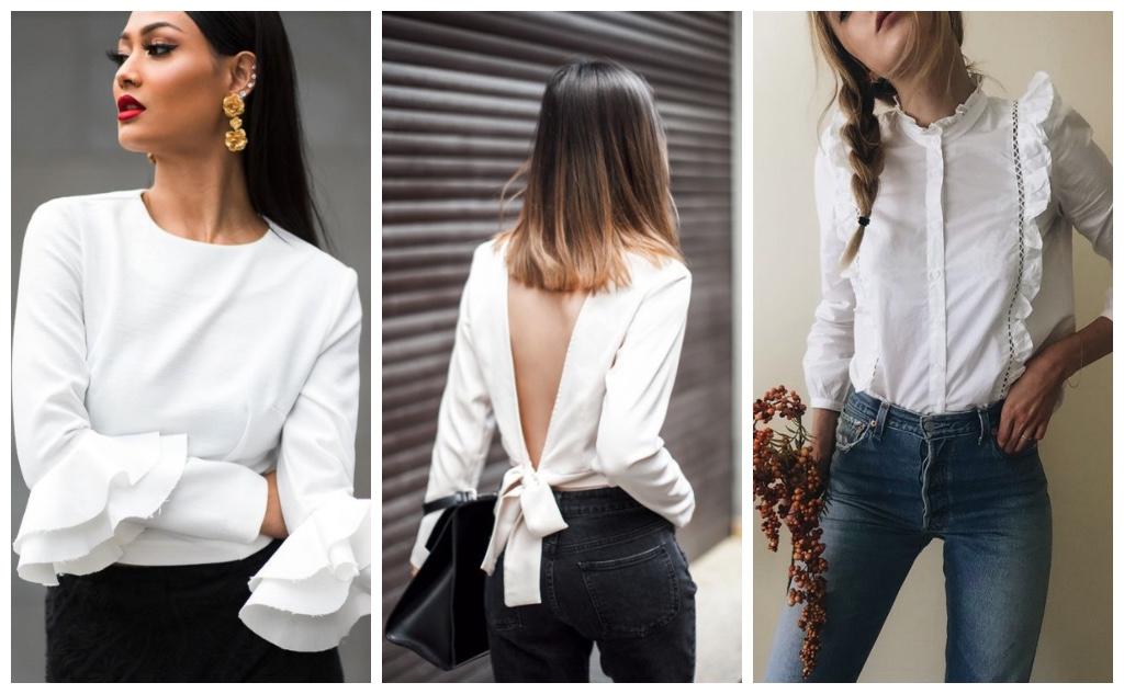 prendas que consigues en rebajas blusa blanca