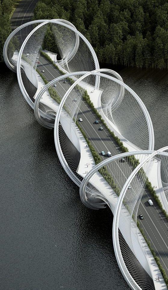 puente futuro de la arquitectura