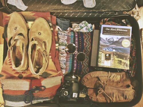 ropa comoda para viajar maleta