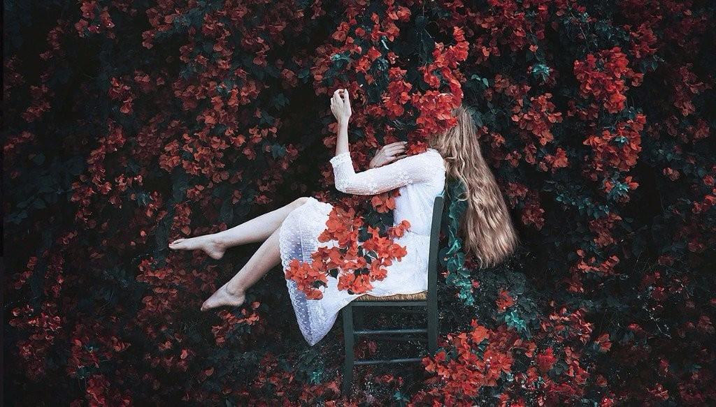 sad girl photography