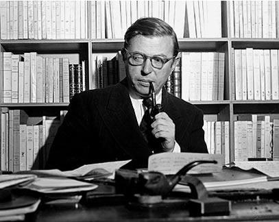 sartre escritores y existencialismo