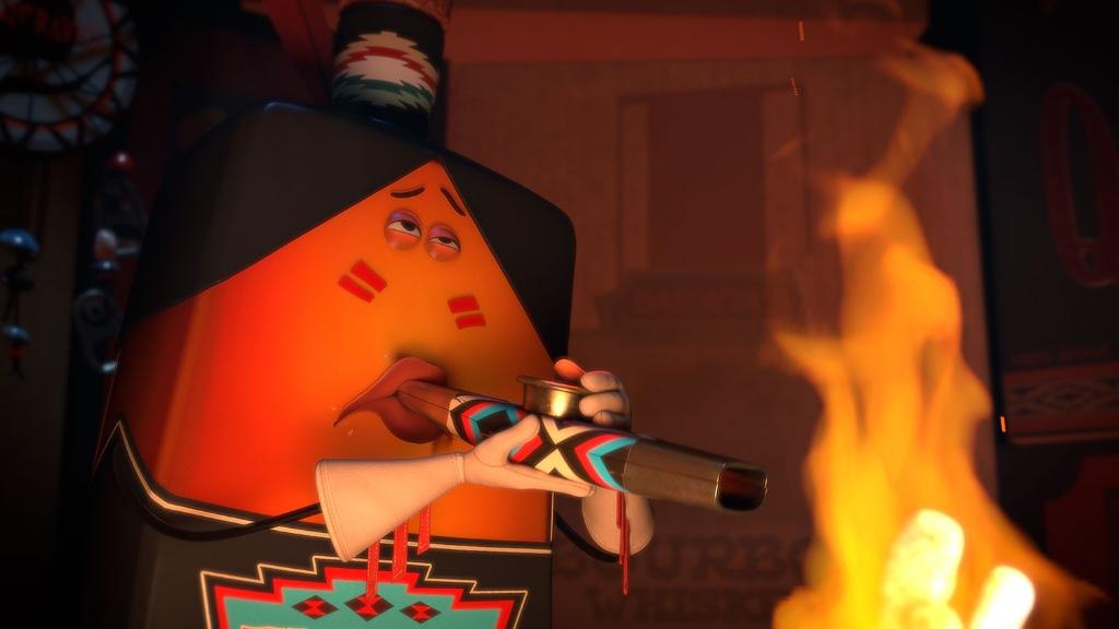 sausage party animacion