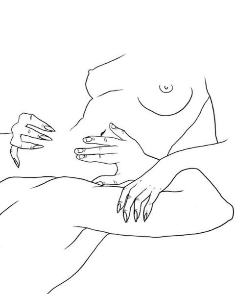 sexual fantasy illustrations oral