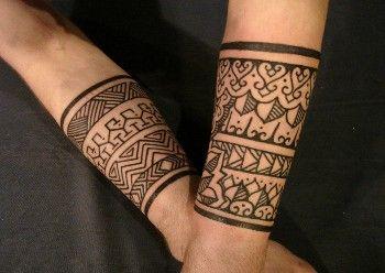 significado de los tatuajes tribales pareja