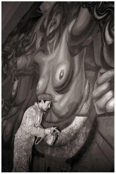 Artistas mexicanos posrevolucionarios  siqueiros