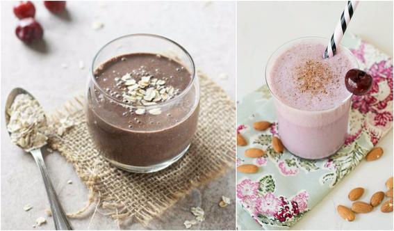 smoothie de chocolate