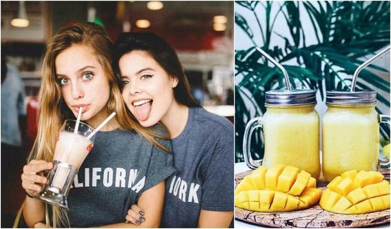 smoothies para cuidar tu piel mango