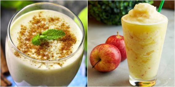 smoothies para cuidar tu piel manzana