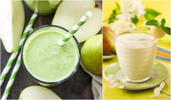 recetas de smoothies para cuidar tu piel pera