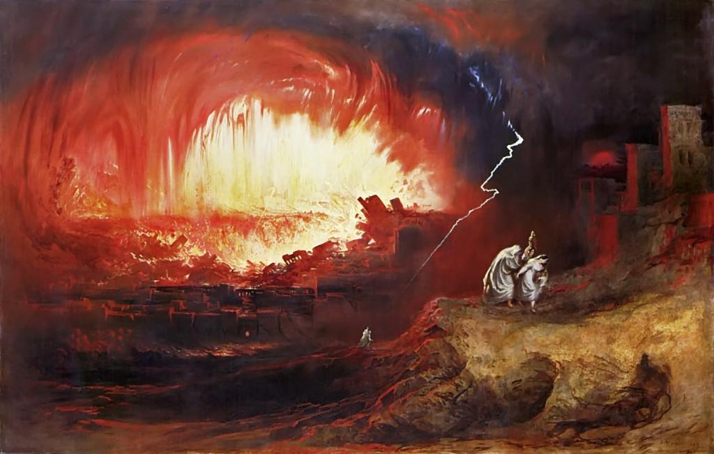 sodoma y gomorra arte