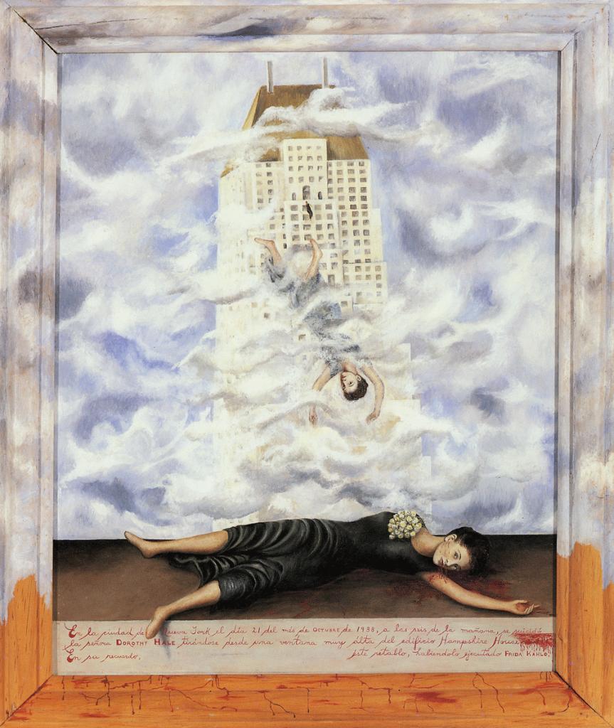 suicide in art frida