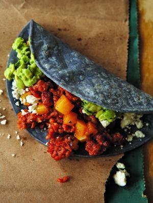 taco comida maya