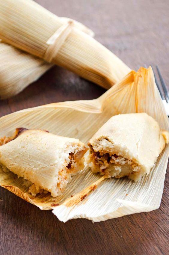 tamales mole comida maya