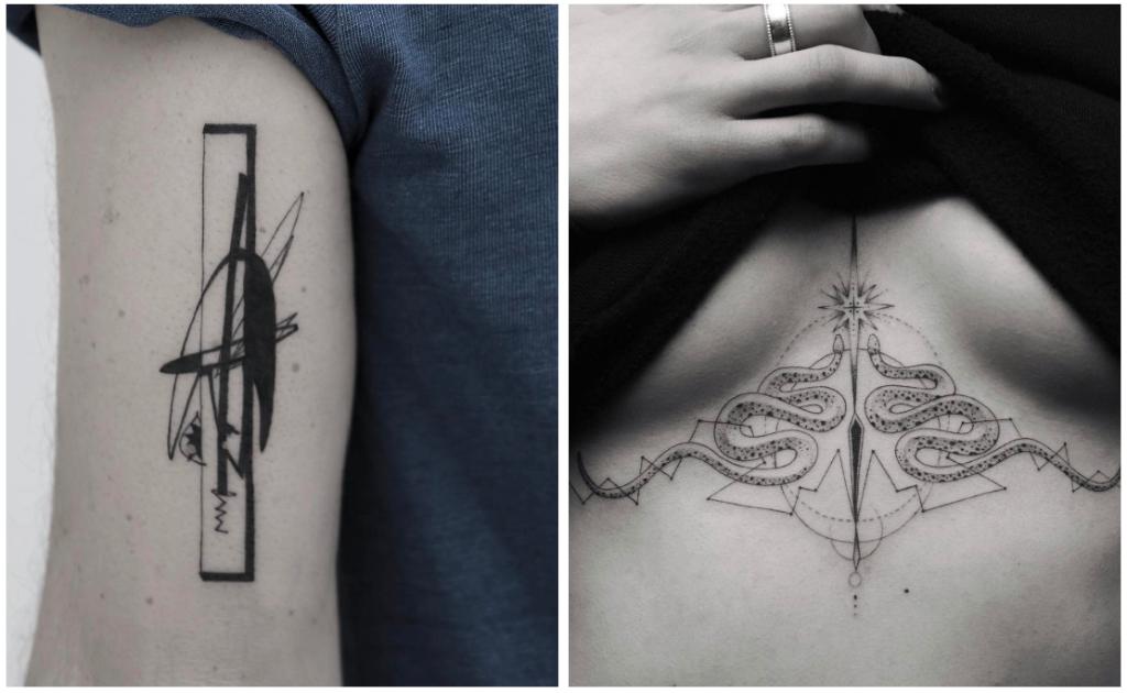 tatuajes geometricas destacada