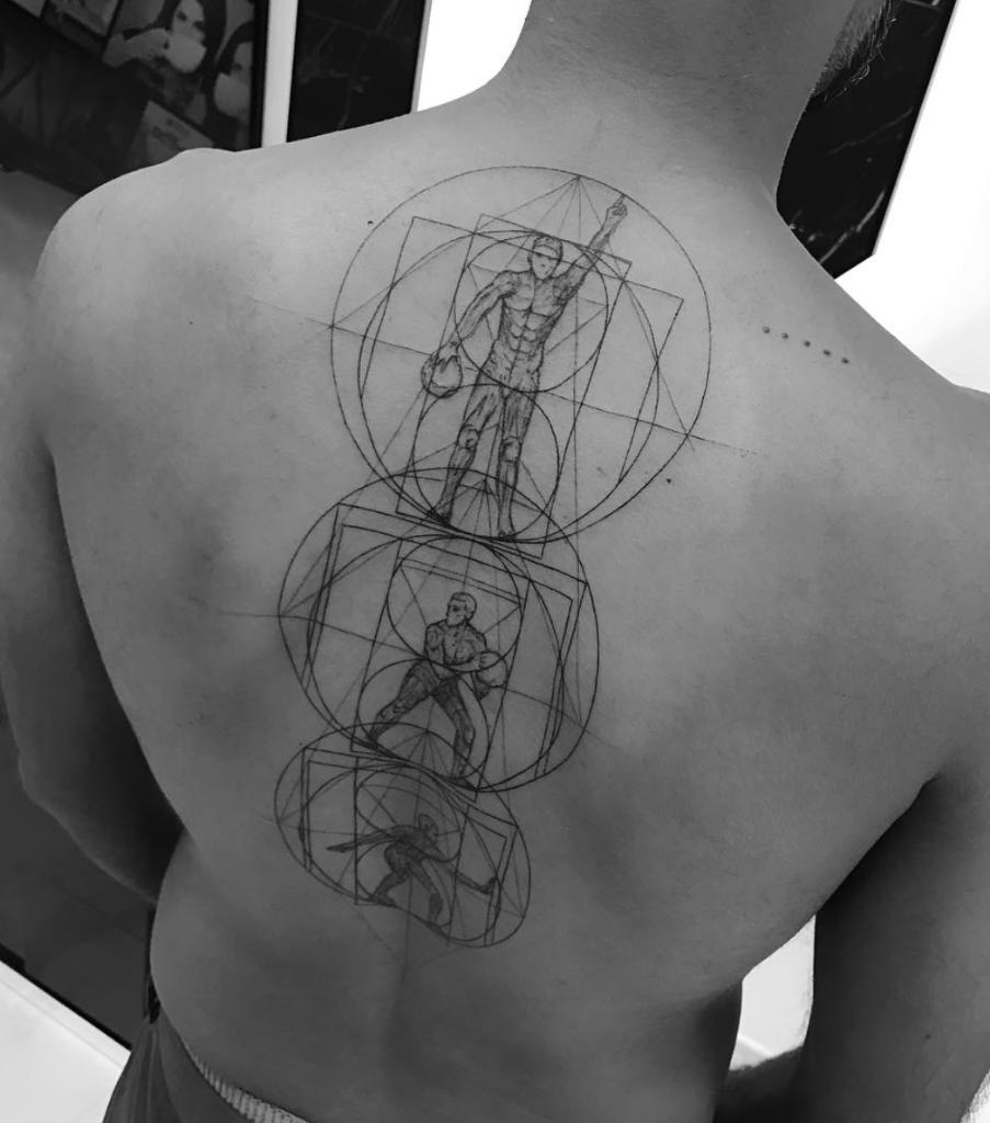 tatuajes geometricas