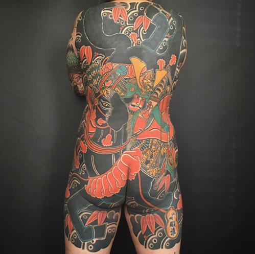 tatuajes japoneses espalda
