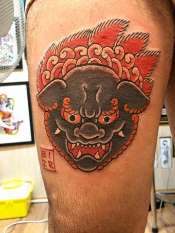 tatuajes japoneses rostro