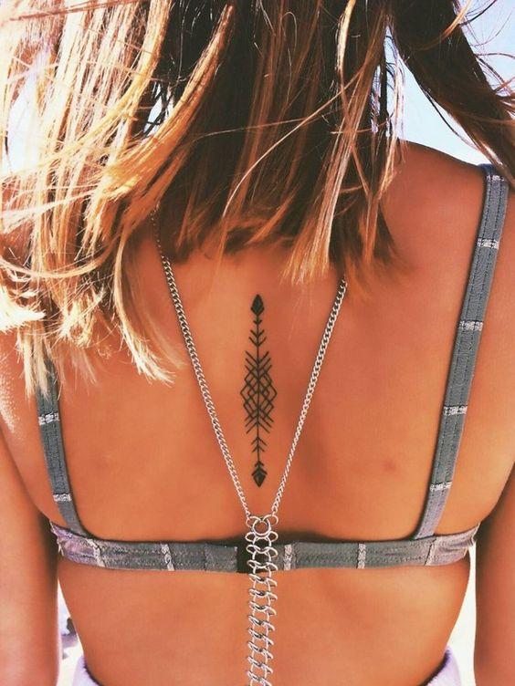 tatuajes, mujeres, espalda 6
