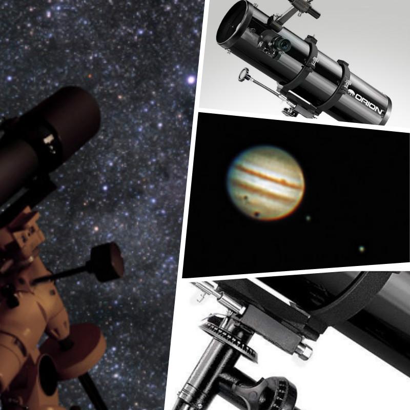 telescopio tipos de orion